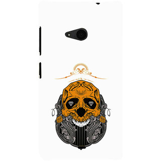 ifasho Modern  Design animated skeleton Back Case Cover for Nokia Lumia 535