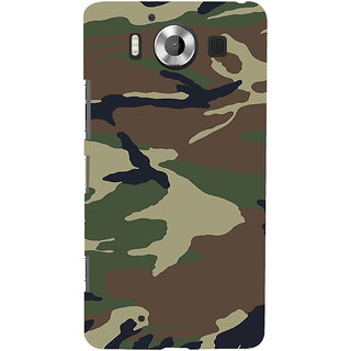 ifasho Army dress pattern Back Case Cover for Nokia Lumia 950