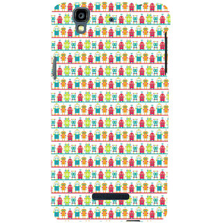 ifasho Modern Art Design Pattern Lot Doll and postbox  Back Case Cover for YU Yurekha
