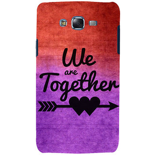ifasho We are together Back Case Cover for Samsung Galaxy J7 (2016)