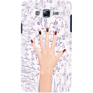 ifasho girl finger with nail polish design Back Case Cover for Samsung Galaxy J5