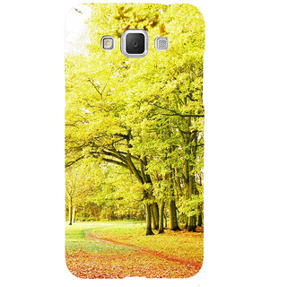ifasho Green 3Dees with red leaves on the road Back Case Cover for Samsung Galaxy Grand Max