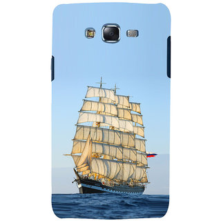 ifasho Ship in See Back Case Cover for Samsung Galaxy J7