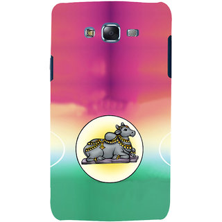 ifasho Nandi lord siva Back Case Cover for Samsung Galaxy J7 (2016)