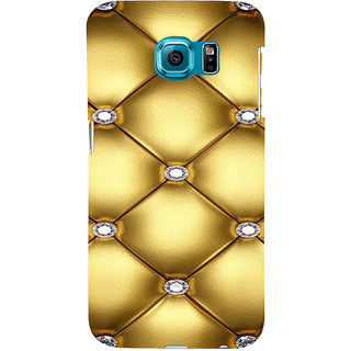 ifasho Dont worry be happy Back Case Cover for Samsung Galaxy S6