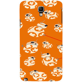 ifasho Animated Pattern colrful 3Dibal design Back Case Cover for Samsung Galaxy Note3 Neo