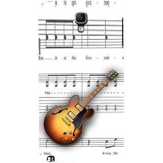 ifasho Modern Art Design Pattern Music Ins3Dument Guitar Back Case Cover for Samsung Galaxy Note3 Neo