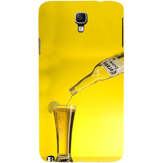 ifasho Beer Back Case Cover for Samsung Galaxy Note3 Neo