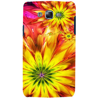 ifasho Flower Design multi color Back Case Cover for Samsung Galaxy J5