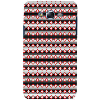 ifasho Animated Pattern of diagonal on black s3Dipes  Back Case Cover for Samsung Galaxy J7