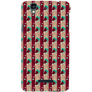 ifasho Animated Pattern design colorful flower in vertical s3Dipe Back Case Cover for YU Yurekha