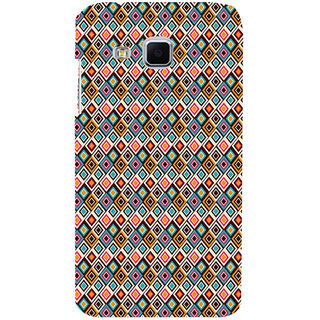 ifasho Animated Pattern design colorful in royal style Back Case Cover for Samsung Galaxy J3
