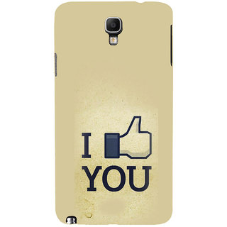 ifasho I am In love Back Case Cover for Samsung Galaxy Note3 Neo