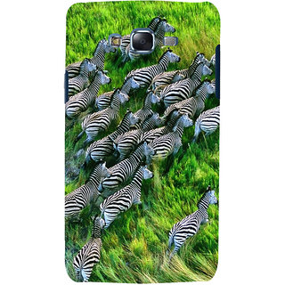 ifasho Zebra with S3Dipes Back Case Cover for Samsung Galaxy J5