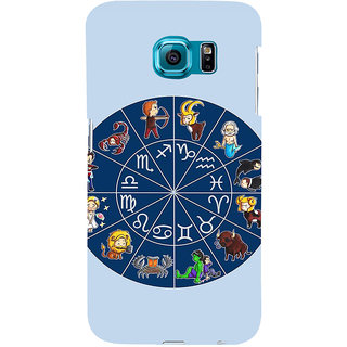 ifasho zodiac sign ALL Back Case Cover for Samsung Galaxy S6