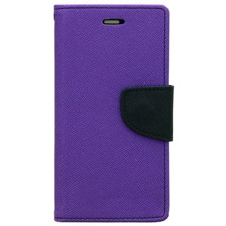 Mercury Wallet Flip case Cover For Samsung Galaxy A5 (2016)  (Purple)