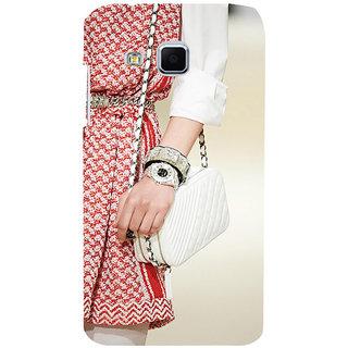 ifasho Designer dress pattern Back Case Cover for Samsung Galaxy J3