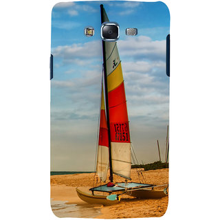 ifasho Boat in a beach Back Case Cover for Samsung Galaxy J5