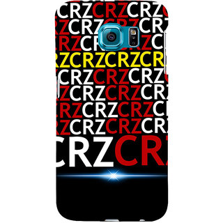 ifasho Crazy Quotes Back Case Cover for Samsung Galaxy S6 Edge Plus