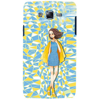 ifasho Skinny girl Back Case Cover for Samsung Galaxy J7 (2016)