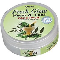 Herbal Plus Neem And Tulsi Skin Whitening Face Pack@SEP