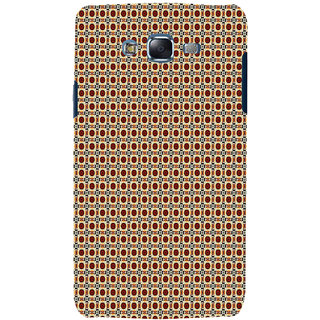 ifasho Animated Pattern design many small flowers  Back Case Cover for Samsung Galaxy J7