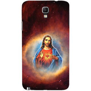 ifasho Jesus christ  Back Case Cover for Samsung Galaxy Note3 Neo