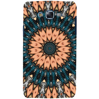 ifasho Animated Pattern design colorful flower in royal style Back Case Cover for Samsung Galaxy J5