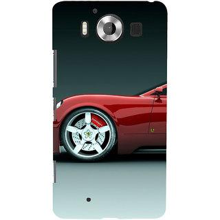 ifasho Stylish long Car Back Case Cover for Nokia Lumia 950