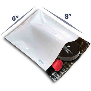 Plastic Courier Bags With POD- Size 6 x 8 - Pack Of 250