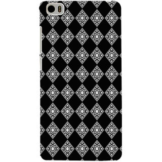 ifasho Modern Theme of royal design in black and white pattern Back Case Cover for Redmi Mi5