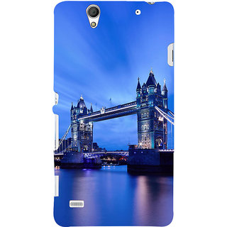 ifasho London Bridge Back Case Cover for Sony Xperia C4