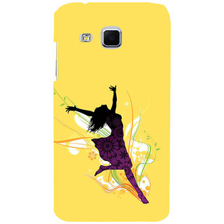 ifasho Dancing girl Back Case Cover for Samsung Galaxy J3