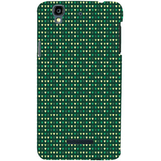 ifasho Modern Art Design Pattern with Lot Of small heart Back Case Cover for YU Yurekha