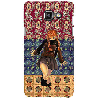 ifasho Dancing girl Back Case Cover for Samsung Galaxy A5 A510 (2016 Edition)