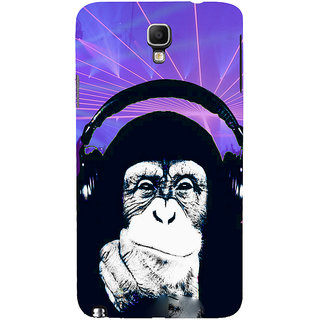 ifasho Monkey with headphone Back Case Cover for Samsung Galaxy Note3 Neo