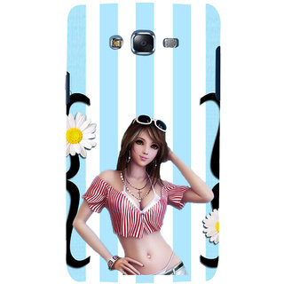 ifasho very beautiful Girl Back Case Cover for Samsung Galaxy J5