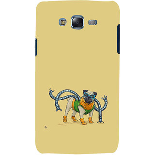 ifasho Dog with colourful  Specs Back Case Cover for Samsung Galaxy J7 (2016)