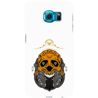 ifasho Modern  Design animated skeleton Back Case Cover for Samsung Galaxy S6 Edge Plus