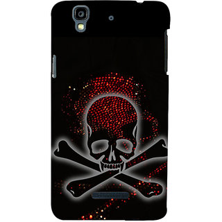 ifasho Modern  Design animated skeleton Back Case Cover for YU Yurekha