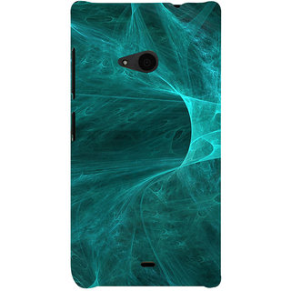 ifasho Design of smoke pattern Back Case Cover for Nokia Lumia 535
