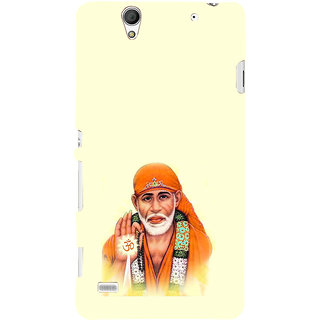 ifasho Shirdi wale Sai Baba Back Case Cover for Sony Xperia C4