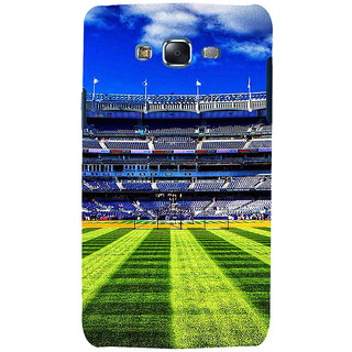 ifasho Football stadium field Baseball field Back Case Cover for Samsung Galaxy J7 (2016)