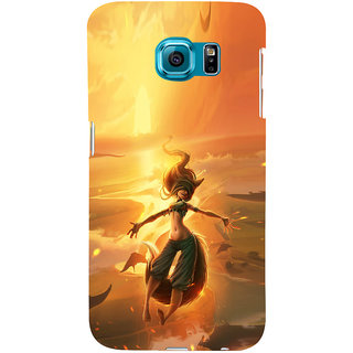 ifasho Girl in water animated Back Case Cover for Samsung Galaxy S6 Edge Plus