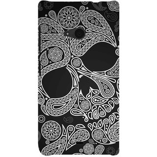 ifasho Modern  Design skeleton in royal Pattern Back Case Cover for Nokia Lumia 535
