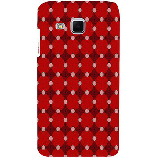 ifasho Design Clourful red and white Circle Pattern Back Case Cover for Samsung Galaxy J3