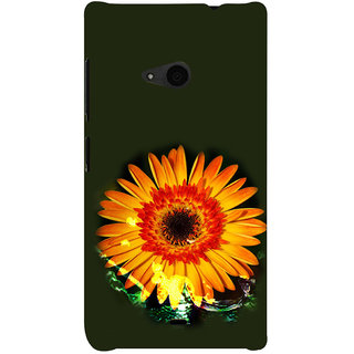 ifasho one Flowers Back Case Cover for Nokia Lumia 535
