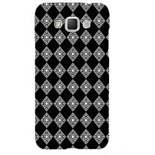ifasho Modern Theme of royal design in black and white pattern Back Case Cover for Samsung Galaxy Grand Max