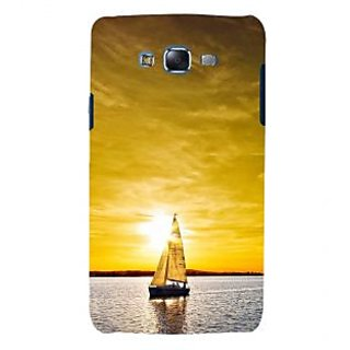 ifasho Boating at sunset Back Case Cover for Samsung Galaxy J5