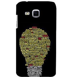 ifasho Quotes on idea animated bulb Back Case Cover for Samsung Galaxy J3